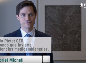 Entrevista a Gabriel Micheli, gestor senior del fondo Pictet- Global Environmental Opportunities