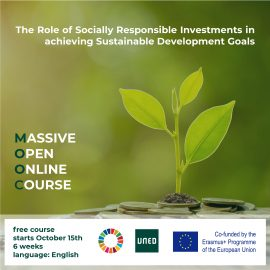 Curso masivo y en abierto gratuito «The Role of Socially Responsible Investments in achieving Sustainable Development Goals»